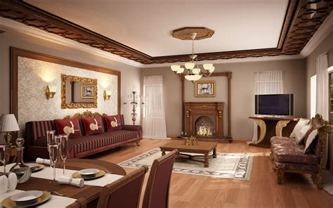 Classic Room by Classic Living Room 01 By Murataral On Deviantart