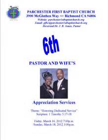 Letter Of Appreciation To My Pastor S Wife Pastor Appreciation Program Template Just B Cause