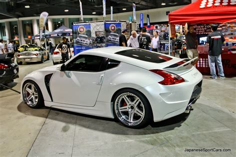 nissan 370z custom rims custom nissan 370z with amuse vestito body kit and venaci