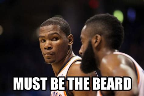 James Harden Memes - james harden must be the beard meme james harden memes