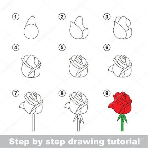 javascript zeichnen tutorial zeichnung lernprogramm wie eine rose zu zeichnen