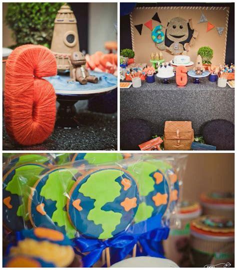 little decorations kara s party ideas little bog planet sixth birthday party