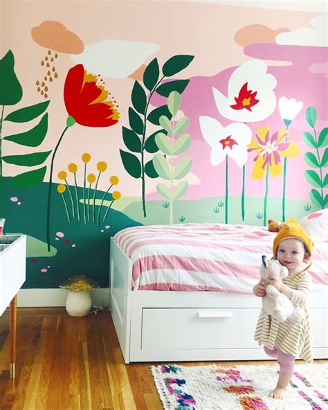 wall murals for teenagers whimsical mural for the bedroom this this