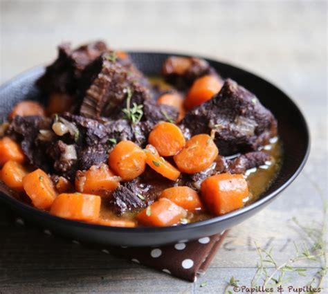 cuisiner le sanglier en daube daube de joue de boeuf aux carottes et vin