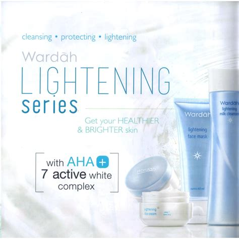 Harga Wardah Step 1 20ml wardah paket lightening series step 1 20 ml elevenia