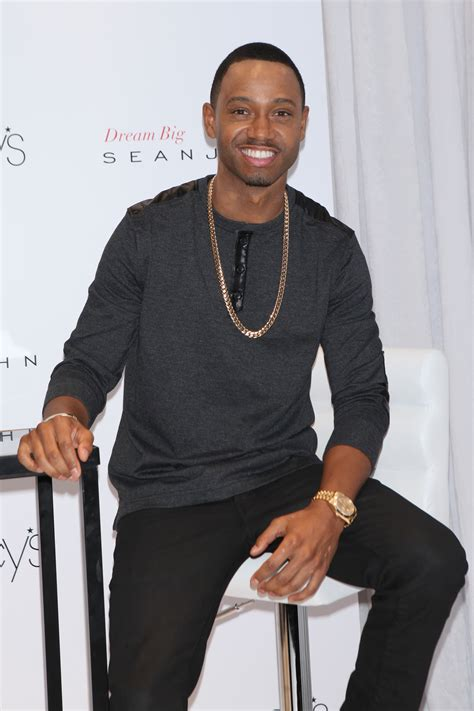 terrence j terrence j and sean john give back with dream big bossip