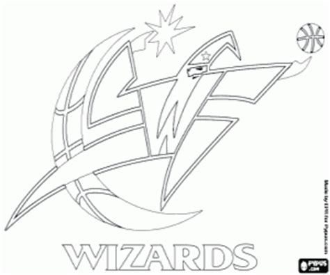 nba wizards coloring pages nba logos coloring pages printable games