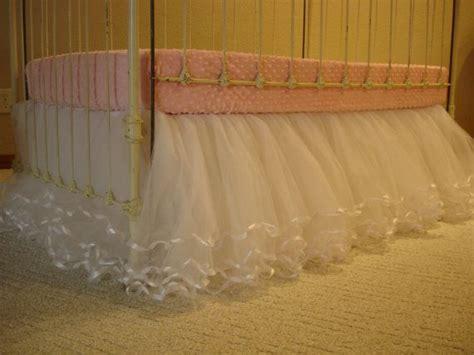 tulle bed skirt 25 best ideas about tulle crib skirts on pinterest crib