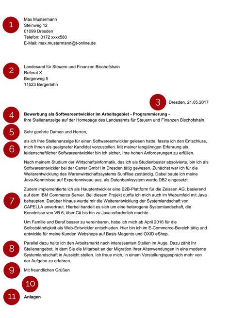 Bewerbungsschreiben Zfa vorlagen und muster f 252 r das bewerbungsanschreiben