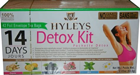 Hyleys 14 Days Detox Kit How To Take It by Hyleys Tea Slim Tea Acai Berry 1 32 Ounce