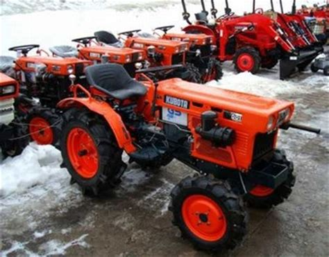 Autoscout Japan by Kubota Japan Mini Tractor B7001d Used Tractor With Rotary