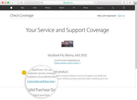 Check Apple Care For Mba by C 243 Mo Comprar Un Plan De Applecare Para Tu Dispositivo