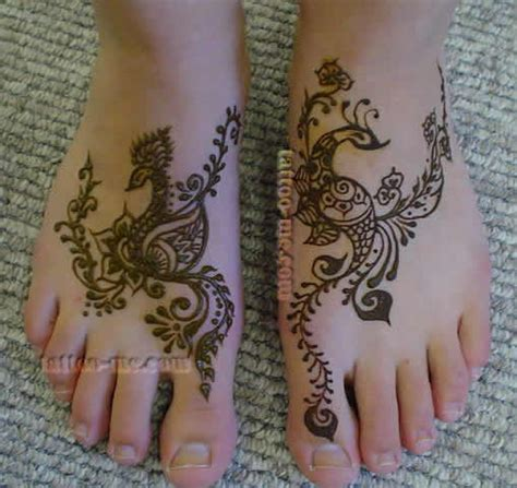 bridal henna on feet tattoo me