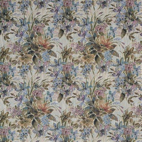 Tapestry Material Upholstery by Blue Purple And Green Floral Tapestry Upholstery Fabric