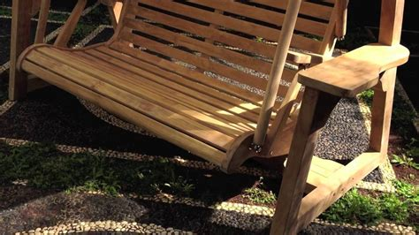 teak porch swing popular teak porch swing is durable and sturdiness the