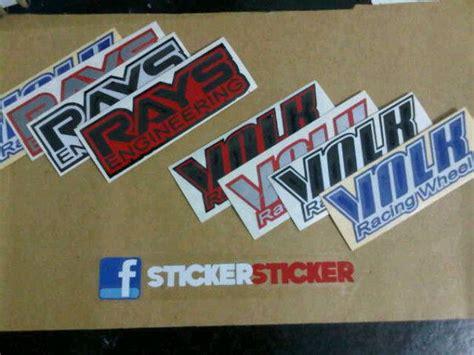 Stiker Sticker Asimo 02 jdm garage sticker velg jdm ce28 te38 ssr enkei