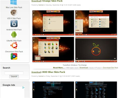 download themes facebook terbaru download themes skin pack terbaru keren untuk windows xp