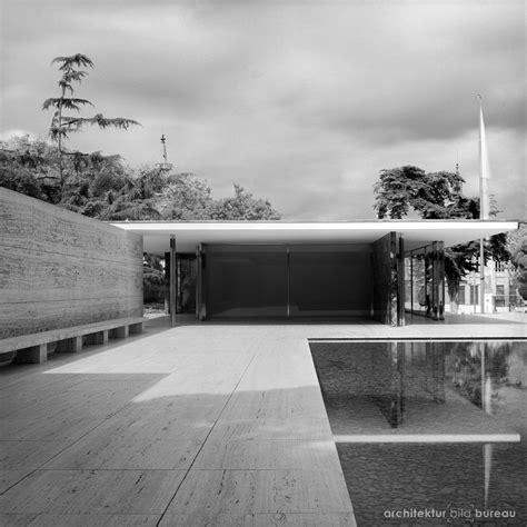 pavillon barcelona barcelona pavillon architektur bild bureau