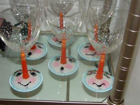 bicchieri decorati per natale decorare bicchieri di vetro per natale we02 187 regardsdefemmes