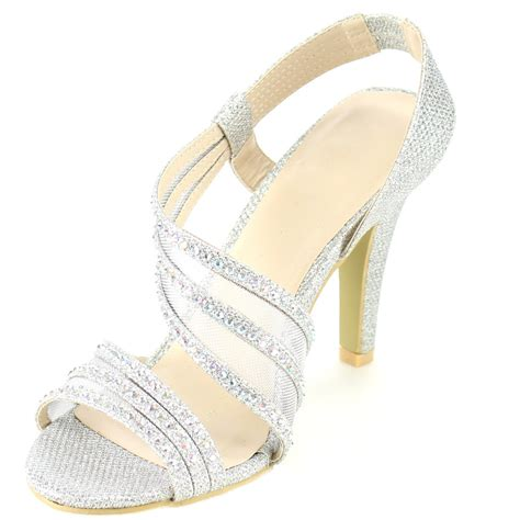 formal sandals for silver dew fb55 s strappy mesh glitter prom