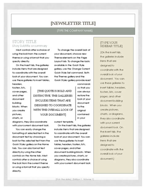 collection of solutions article template microsoft word free church