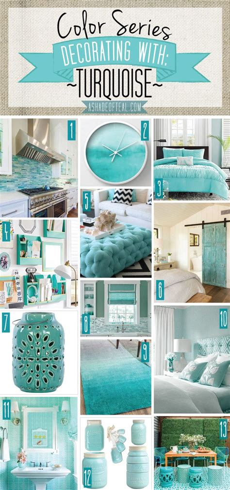 Turquoise Home Accessories Decor by 25 Best Ideas About Turquoise Home Decor On Pinterest
