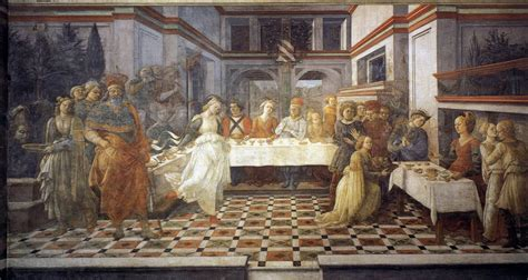 the feast of the the feast of herod salome s dance c 1460 1464 filippo lippi wikiart org