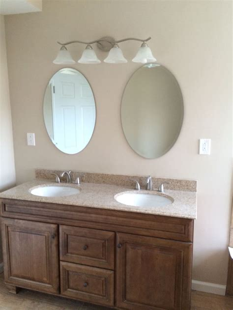bathroom vanity with her double sink 60 quot vanity with granite top his her
