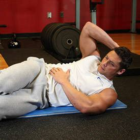 best crunches oblique crunches exercise guide and