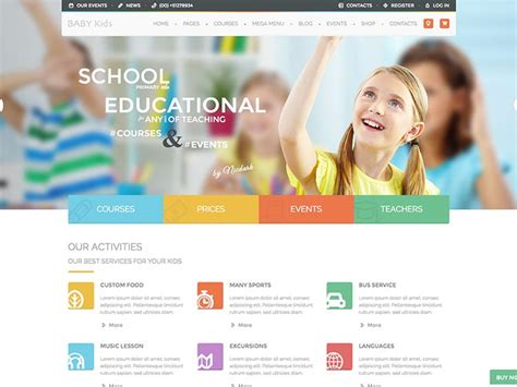 education themes in wordpress free top 6 responsive education academic wordpress themes in 2016