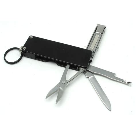 Peralatan Manicure peralatan edc multifungsi pisau manicure mke15 black
