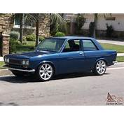 71 DATSUN 510 13B 48 Dellortos Side Draft Just Painted Blue A Real