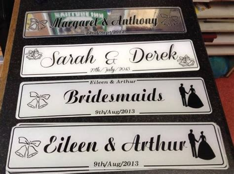 17 best images about wedding number plates on pinterest