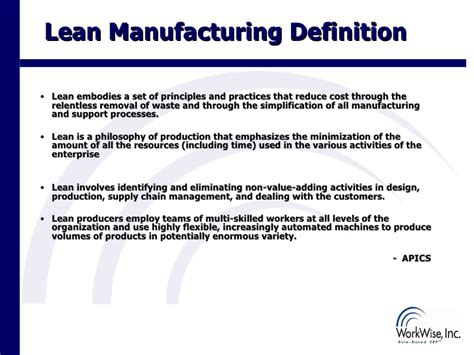 design for manufacturing definition rb erp lean module overview