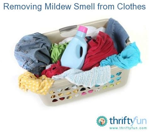 8 Ways To Remove Smell From Clothes by Removing Mildew Smell From Clothes Thriftyfun