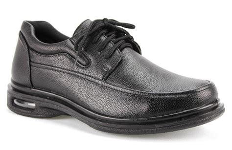 s black restaurant work shoes lace up slip
