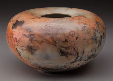 saggar fired pottery alex mandli saggar fired and pit