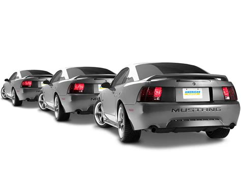 99 04 mustang sequential tail light kit raxiom mustang sequential tail lights kit plug and play