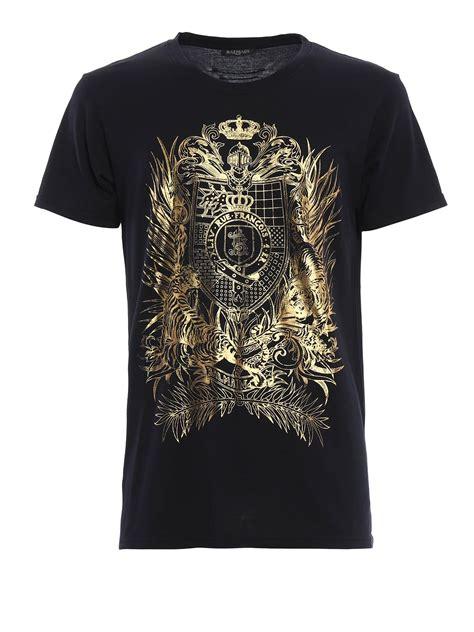 Tiger Print T Shirt tiger print t shirt by balmain t shirts ikrix