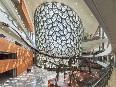 desain lu outdoor shanghai natural history museum in china by perkins will