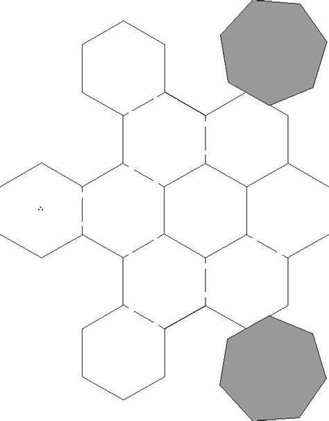 sphere template paper template
