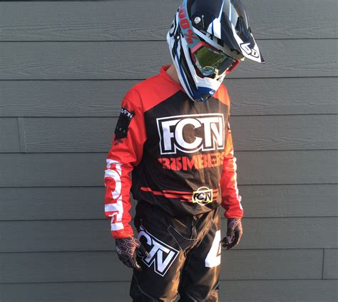 motocross gear sets fctn quot bombers quot motocross gear set custom apparel inc