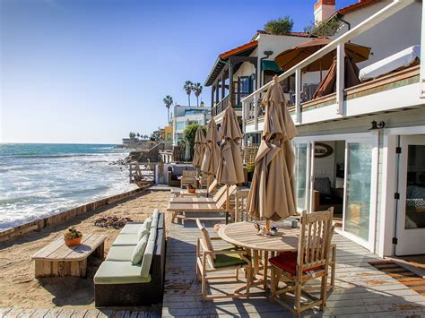 malibu house rentals shabby chic malibu beach house vacation rental malibu mart