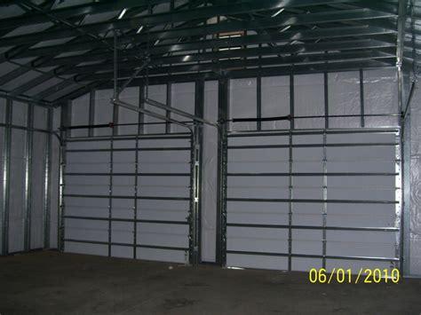 Steel Frame Garage by Steel Frame Garages Southern Building Structures