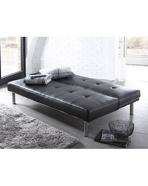 click clack leather sofa bed faux leather click clack sofa bed marisota
