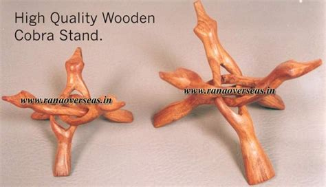 0038 high quality wooden carved rana overseas inc wooden display stands in 3 legs 4