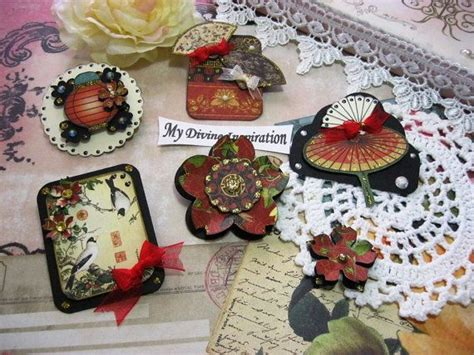 Handmade Scrapbook Embellishments - 17 best images about graphic 45 bird song on