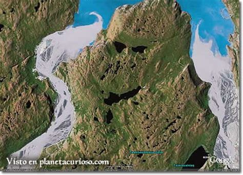 imagenes interesantes de google earth la curiosa cara que forma el mapa de google earth