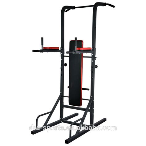 pull up bench knee raise multi power tower with exercise bench chin up