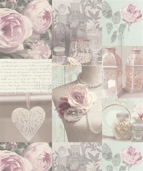 shabby chic wallpaper mannequin and roses wallpaper the shabby chic guru